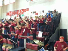 Pep Band at District Tournaments