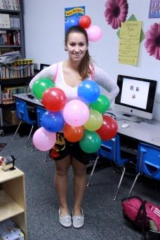 Senior Chloe LaPray