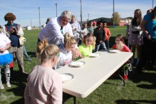 Pie Eating Contest with Kaila Hill, Paige Hayes, Jessica Knott & Abby Blick