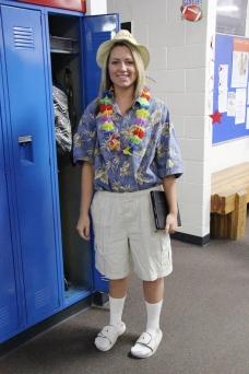 Tourist Day; Senior Sydney Ellsworth