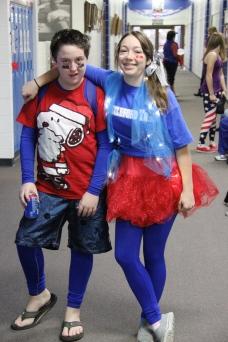 Spirit Day; Jorden Bridwell & Abby Blick