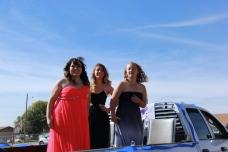 Freshman Royalty; Nitillia Ramos, Alexia Porté, Taylor Thomas