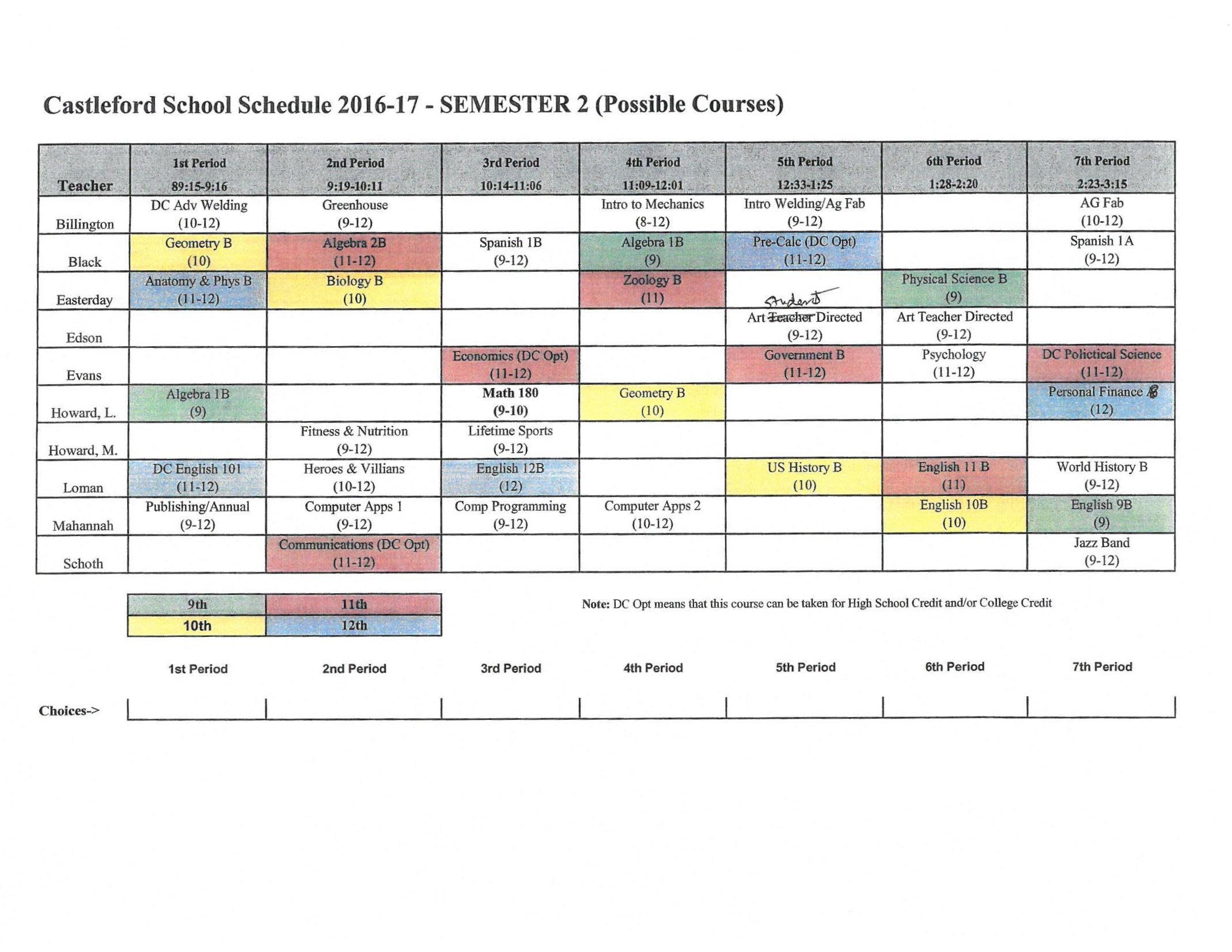 Breaking Down the Academic Calendar