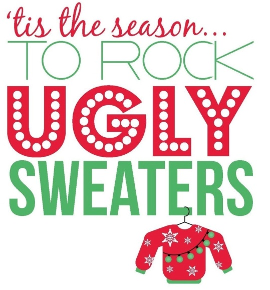 Green Day Christmas Sweater.National Ugly Sweater Day Castleford School District