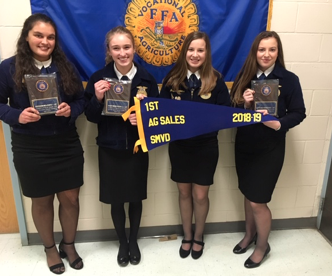 910a5d17a3e2 The Castleford Ag Sales team recently won the South Magic Valley District  FFA Agricultural Sales Career Development Event (CDE).